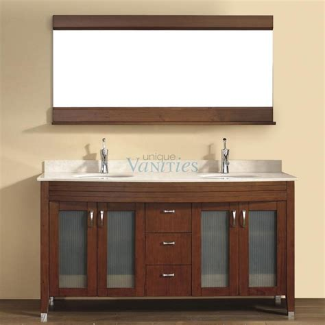 63 inch sink bathroom vanity with choice of top in