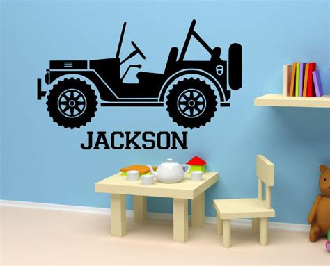 personalized  decal boys nursery room kids bed room