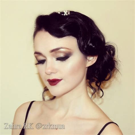 hair color in 1920 1920s hair and makeup zahra r s zrkmua photo beautylish