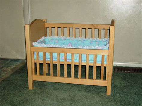 Baby Doll Crib by Doll Crib For Your Bitty Baby Or Any Baby Doll By