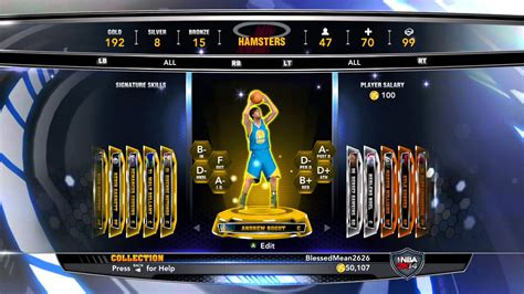 Mba 2k 17 Pack Opening by Nba 2k14 All Gold Players Myteam