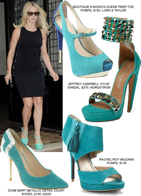 update your lbd with turquoise pumps like julianne hough