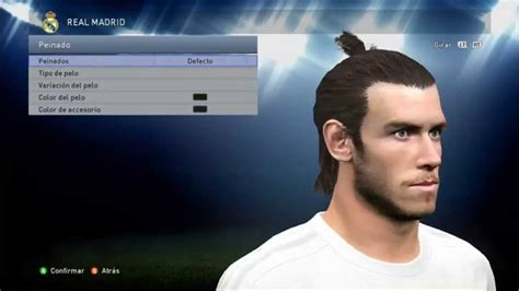 why is gareth bale growing his hair pes 2015 new face hair gareth bale 2015 16 youtube