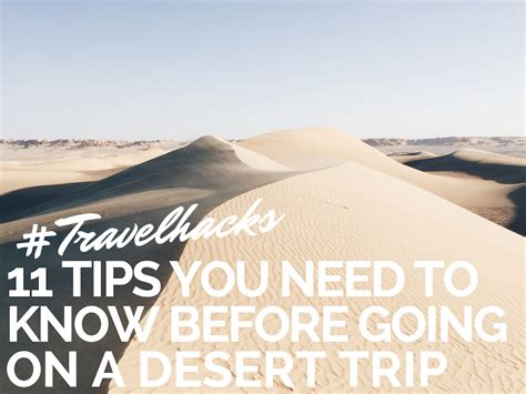 11 tips you need to know before building a shipping 11 tips you need to know before going on a desert trip