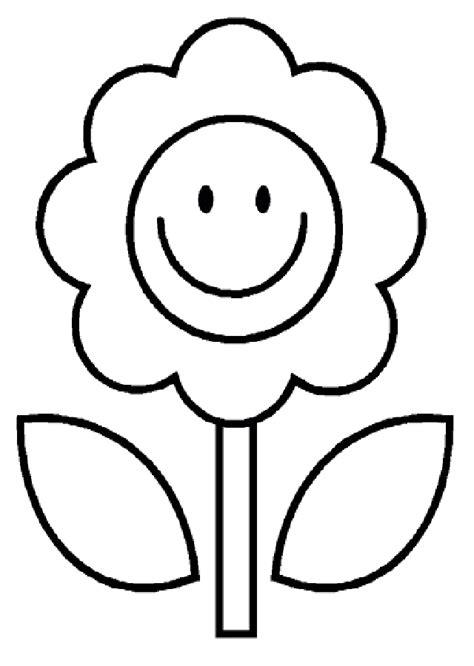imagenes infantiles para colorear de flores flores para colorear dibujos para colorear