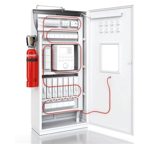 firedetec electrical cabinet suppression and