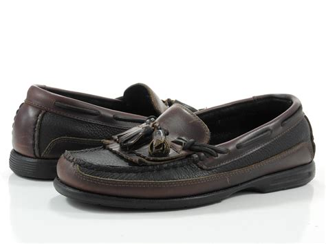 boat shoes with tassels sperry top sider 8 m mens shoes black leather kiltie