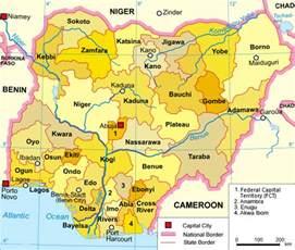 Map Of Nigeria States by States Of Nigeria Wikipedia