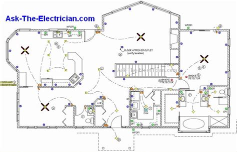 residential house wiring residential wiring diagrams and layouts