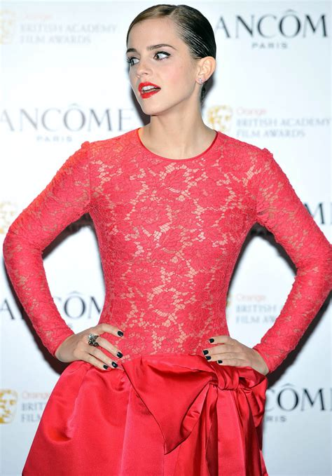 emma watson red dress emma watson in a little red dress news people