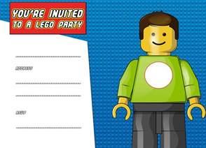 Lego Birthday Invitations Templates Free by Free Printable Lego Birthday Invitation Template