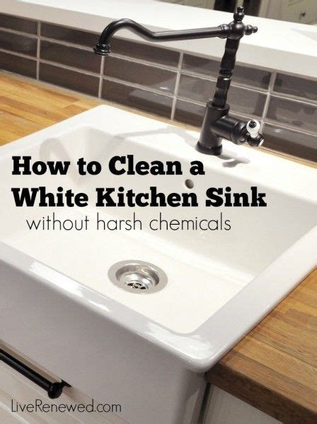 how to clean a kitchen sink 17 best images about home made cleaning products on