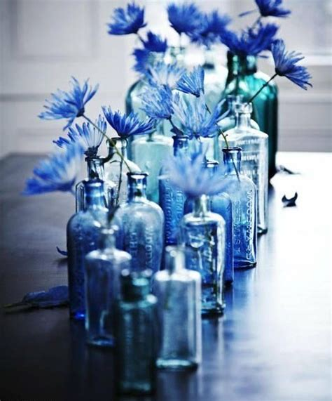 Cobalt Blue Vases Bulk 5 Cool Ideas And 25 Examples Of Using Vintage Bottles In