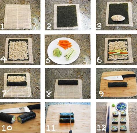 How Do You Make Rice Paper - sushi healthy recipes