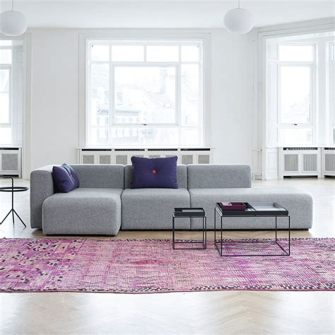 hay sofa mags mags sofa modules narrow by hay in our shop