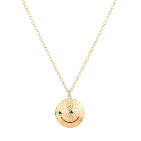 wholesale faces for jewelry popular smiley necklace buy cheap smiley