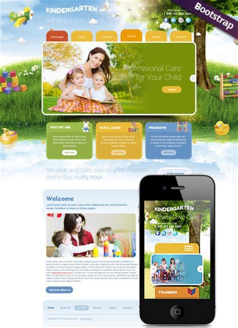 free preschool website templates kindergarten html website template best website templates