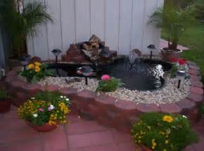 Backyard Pond Ideas Small Backyard Pond Ideas