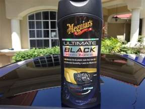 meguiar s ultimate black plastic restorer review and test