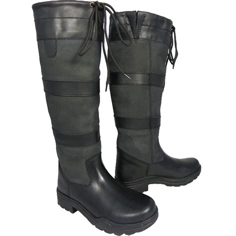 Country Boot 1 3 mens winter farm wellies leather country