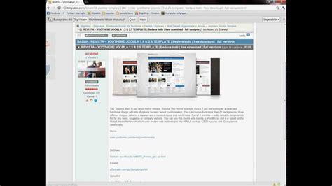 yootheme joomla templates free revista yootheme joomla 1 5 2 5 template bedava