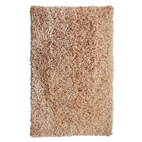 comfy area rugs chesapeake merchandising comfy shag linen 5 ft x 7 ft area rug 79104 the home depot