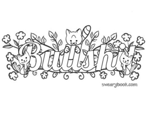 coloring pages for adults cuss words waffle swear words coloring page from the by swearybook