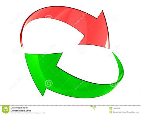 imagenes verdes y rojas flechas verdes y rojas fotos de archivo imagen 15885303