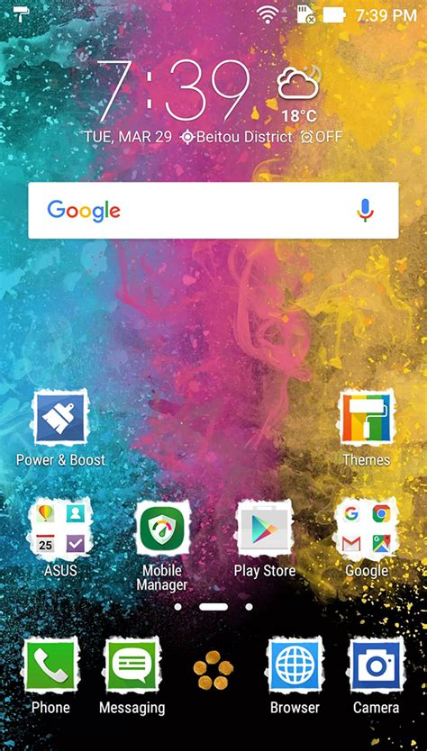 new themes live zenfone live zb501kl phone asus india