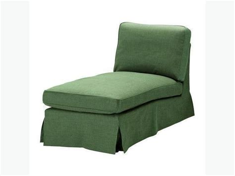 chaise lounge slipcovers sale ikea ektorp chaise lounge slipcover svanby green