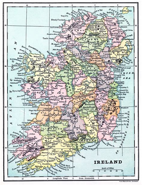 map of print instant printable map of ireland the graphics
