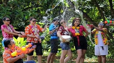 is new year celebrated in thailand songkran thai new year top tips for enjoying thailand s