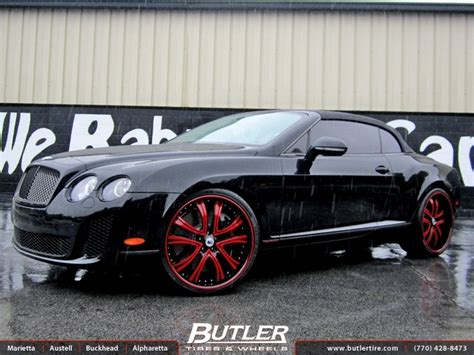 c bentley bentley continental gt c with 22in asanti af159 wheels