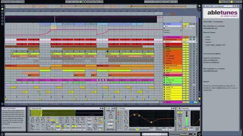 Deep Tech House Ableton Live Template Soundsystem By Abletunes Youtube Ableton House Template