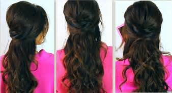 prom hairstyles half up half down for medium hair images