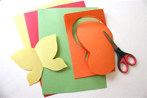 How To Make Butterflies Out Of Construction Paper - paper butterfly sanctuary made everyday