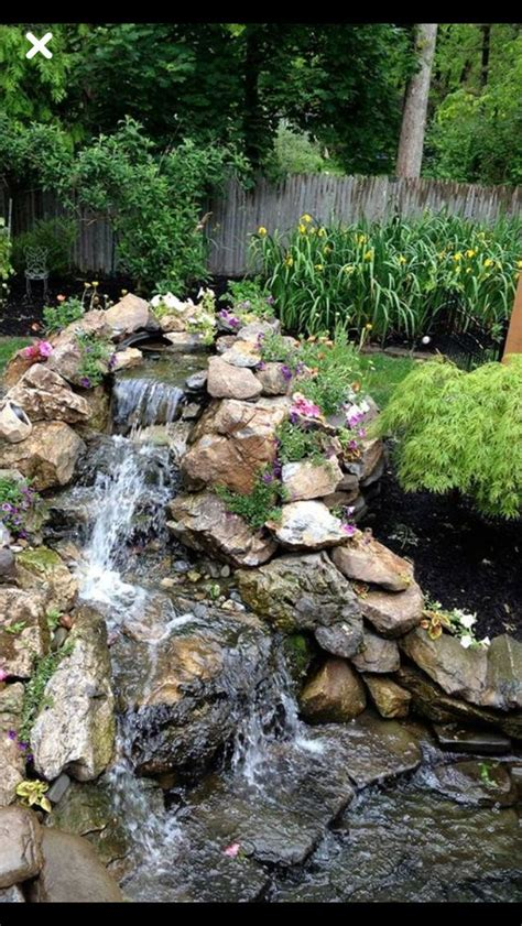 waterfalls in backyard 883 best backyard waterfalls and streams images on