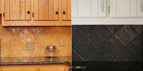 paint kitchen tiles backsplash how to paint a tile backsplash my budget solution designer trapped