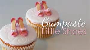 fondant shoe template for cupcakes gumpaste shoes for cupcakes tutorial