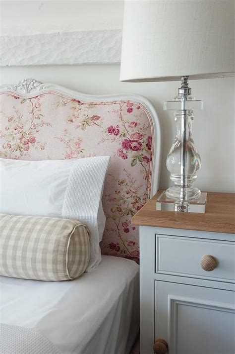 Shabby Chic Beds by Pink Shabby Chic Bed With Gingham Bolster Pillow S Room