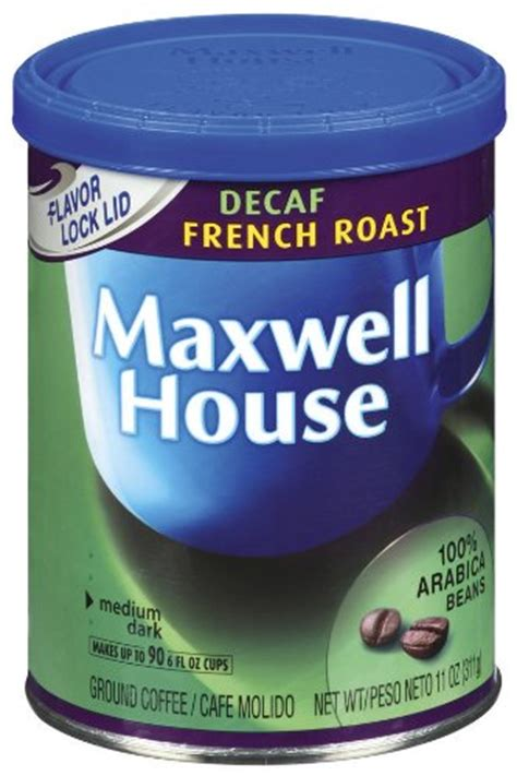 french coffee house music maxwell house decaf french roast ground coffee 11 ounce canisters pack of 3 33 37
