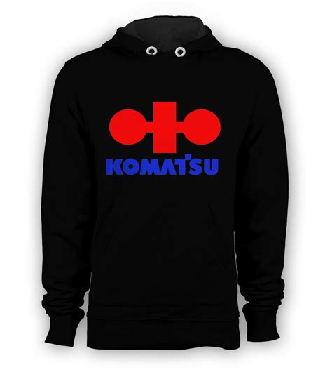 Sweater Hoodie Aw New Logo Black komatsu logo pullover hoodie sweatshirts size s to 3xl new black