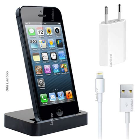 3in1 iphone 5 dockingstation ladestation ladeger 228 t - Iphone 5 Ladestation