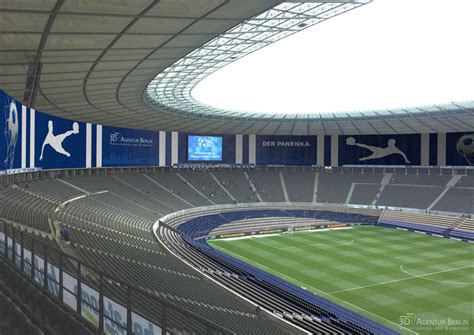 3d visualisierung olympiastadion berlin 3d agentur berlin - 3d Visualisierung Berlin