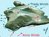 hawaii wind pattern little islands big wake feature articles