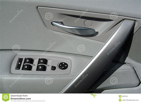 Interior Car Door Panels Interior Panel Of Car Door Stock Photo Image Of Switch