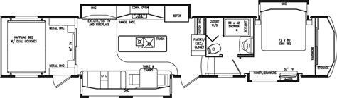 rv suites floor plan rv market