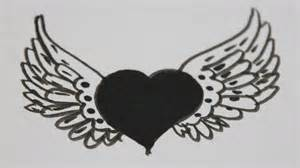 dibujos de corazones dibujos de corazones con alas