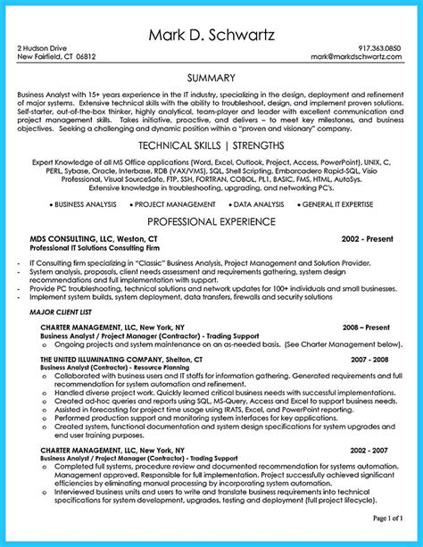 sle resume for business analyst in banking domain create your astonishing business analyst resume and gain