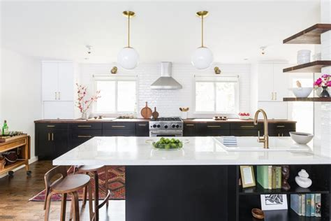 midcentury modern open concept kitchen hgtv faces